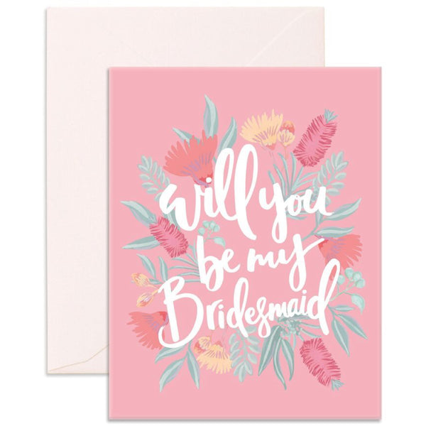 Will You Bridesmaid Card