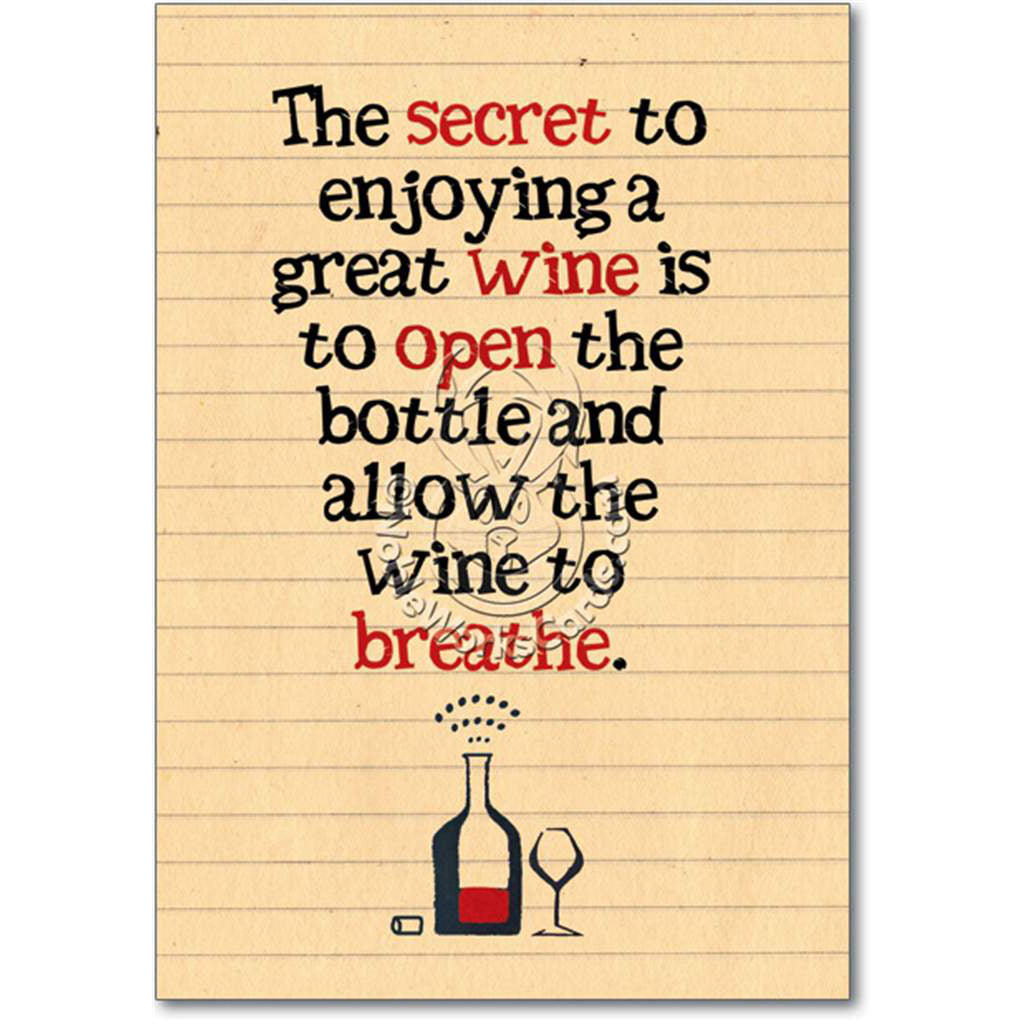 Wine to Breathe Card