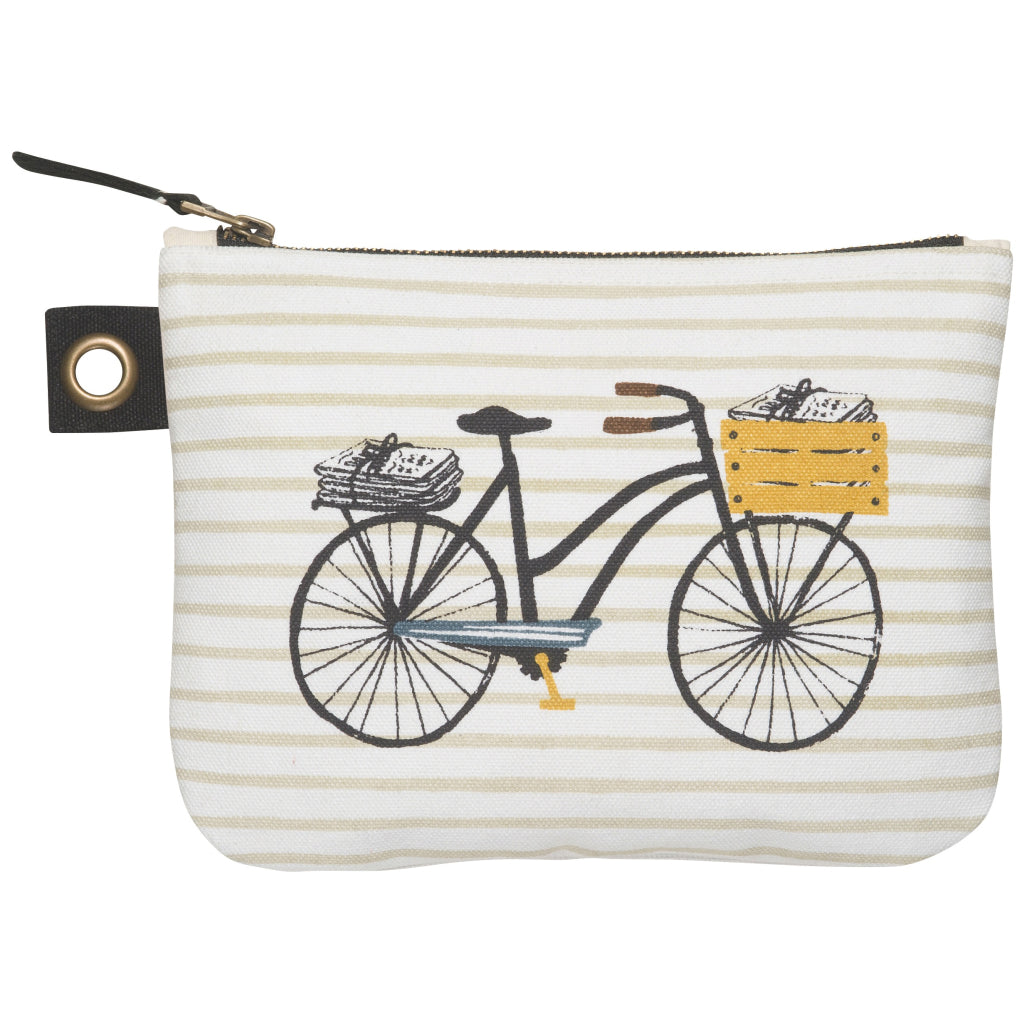 Zipper Pouch Large Bicicletta