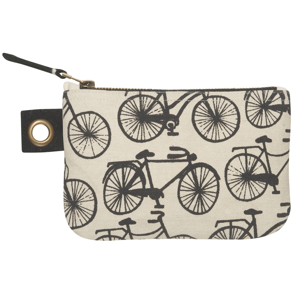 Zipper Pouch Small Bicicletta