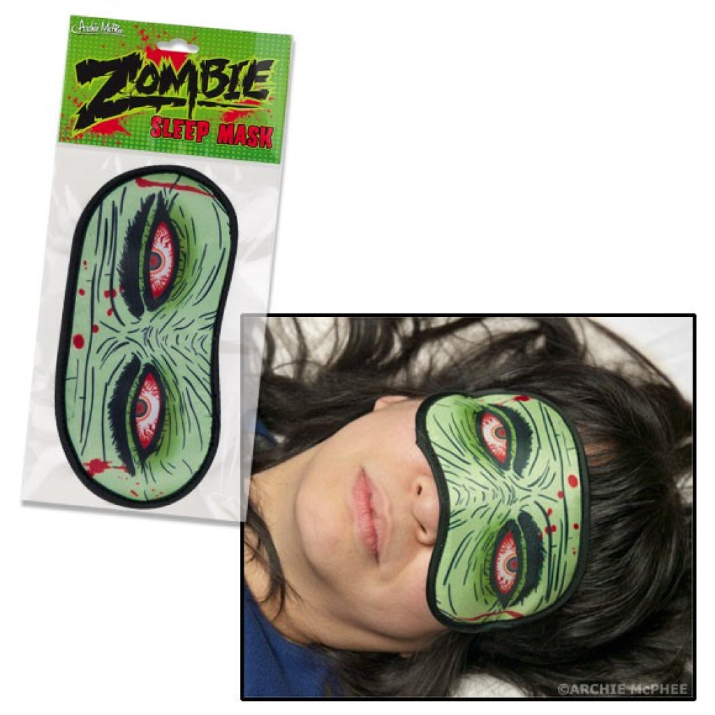 Zombie Sleep Mask action