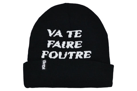 French Beanie - Go Eff Ya self