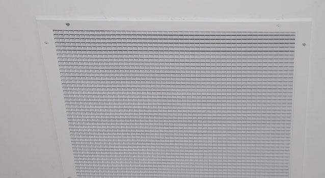 Sight-Proof Eggcrate Return Grille (45F)