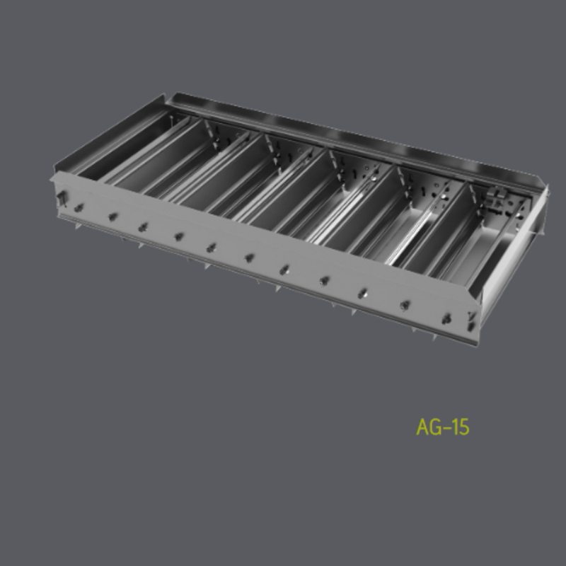 Steel Opposed Blade Damper FOR 300 & 50F Grilles (AG15)