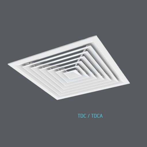 Steel Louvered Face Diffuser (TDC3)