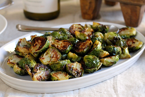 Balsamic-Roasted Brussels Sprouts   5 Simple Recipes to Lower Cholesterol   Blog   Cerabeta