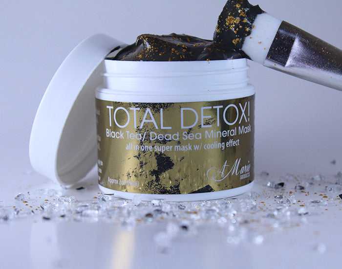 Total Detox Black Tea/Dead Sea Mineral Mask