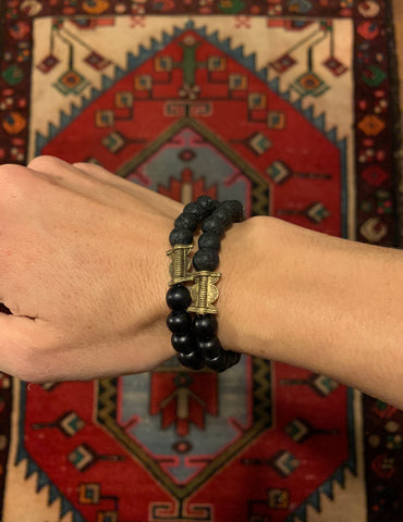 Essential Oil Bracelet-Black