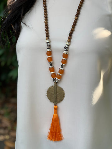 Wilds Orange Tassel