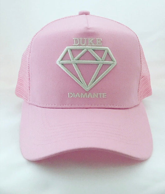 Duke Diamante Pink Trucker Cap