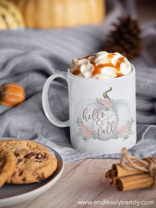 Hello Fall Coffee Mug - - Endlessly Trendy Boutique