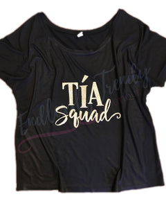 Tia Squad Shirt - - Endlessly Trendy Boutique