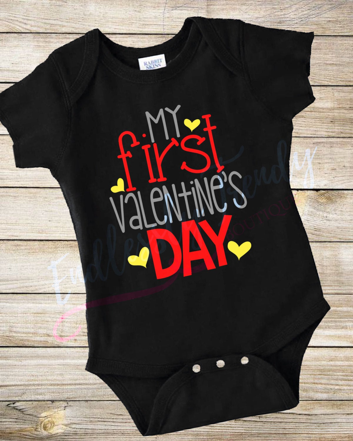 My First Valentine's Day Bodysuit - - Endlessly Trendy Boutique