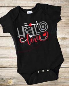 Hello Love Bodysuit - - Endlessly Trendy Boutique