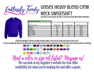 One Blessed Grandmother Tee or Sweater - - Endlessly Trendy Boutique