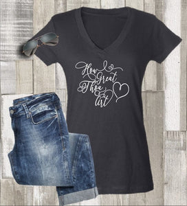 How Great Thou Art Shirt- Christian Tee - - Endlessly Trendy Boutique