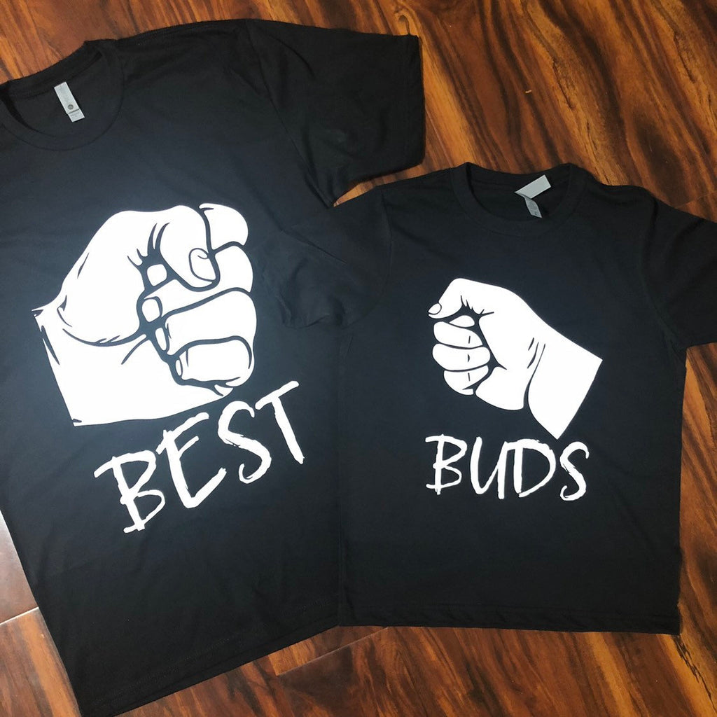 "Father and Son ""Best Buds"" shirts {Pair of 2 shirts} - - Endlessly Trendy Boutique"