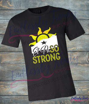 CHILD SIZING - El Paso Strong Tee - #ElPaSOSTRONG - Endlessly Trendy Boutique