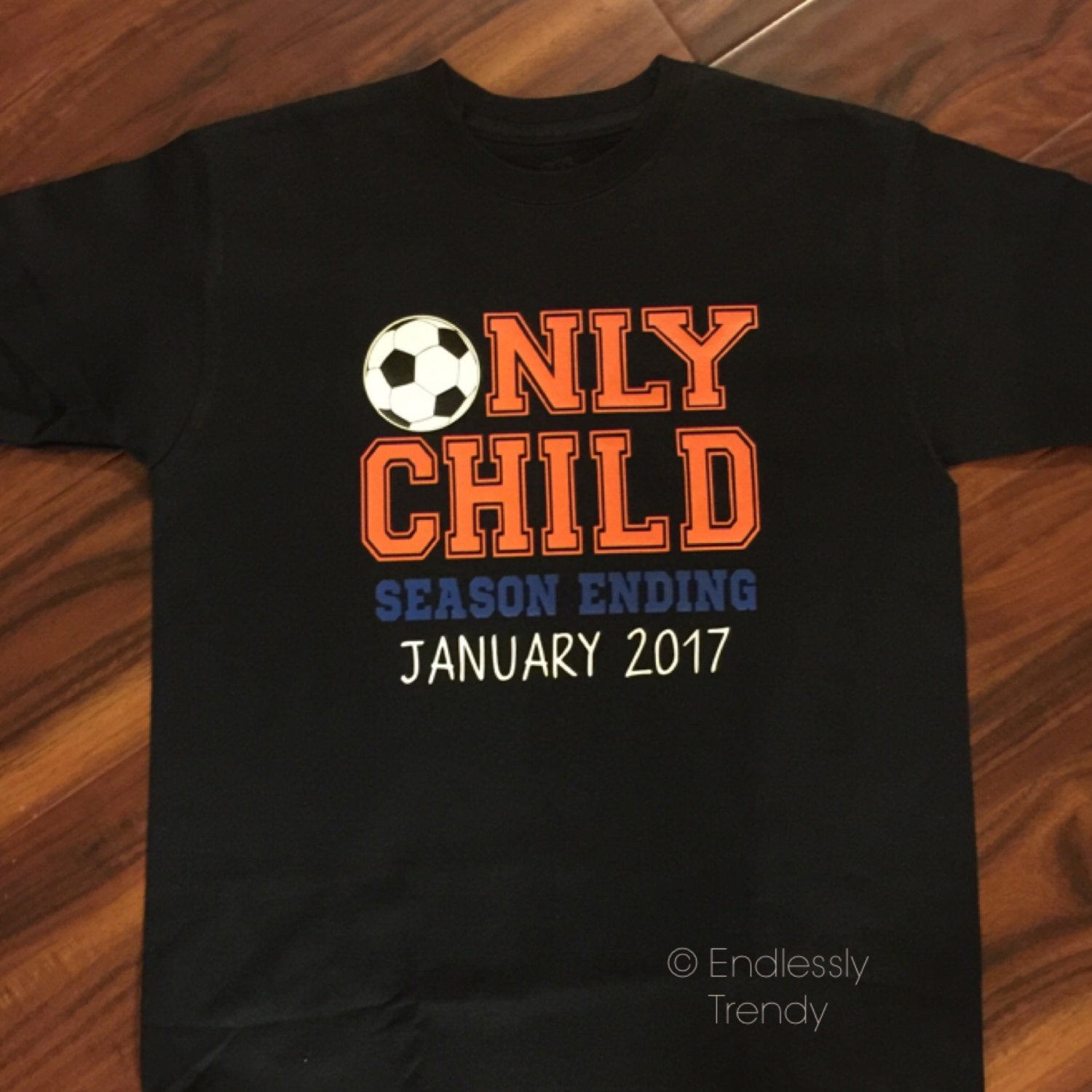 Only Child Season Pregnancy Announcement Tee - Endlessly Trendy Boutique