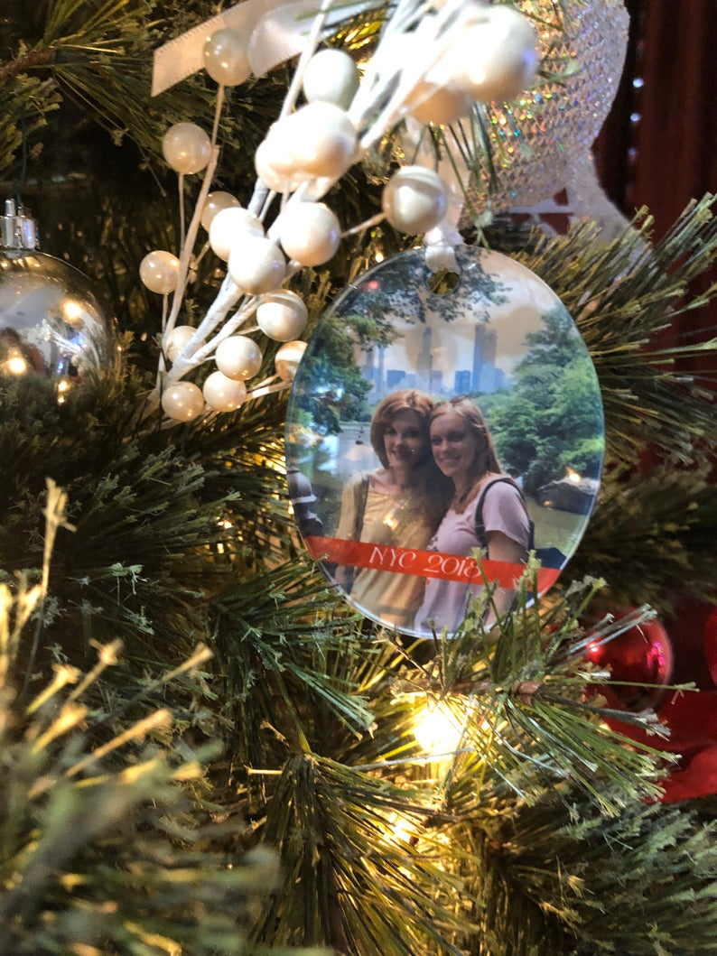 Add YOUR Photo Ornament - Shatterproof Acrylic Ornament  - - Endlessly Trendy Boutique