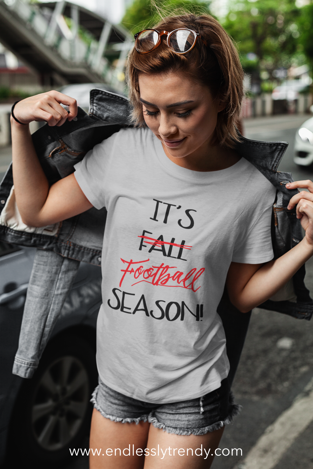 It's (Fall) Football Season Tee - - Endlessly Trendy Boutique