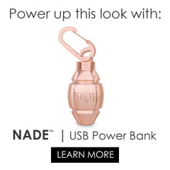 NADDE- cute grenade power bank phone charger