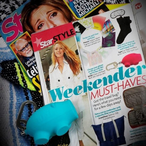 Star magazine chubs pig charger