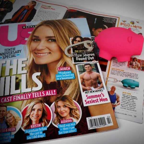 US Weekly magazine chubs pig charger