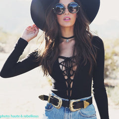 festival outfit layered belt