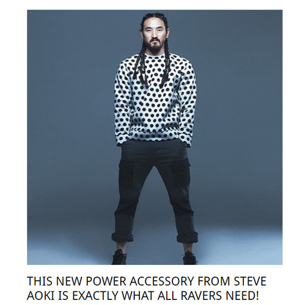 Steve Aoki EDM Selector cakeme power bank