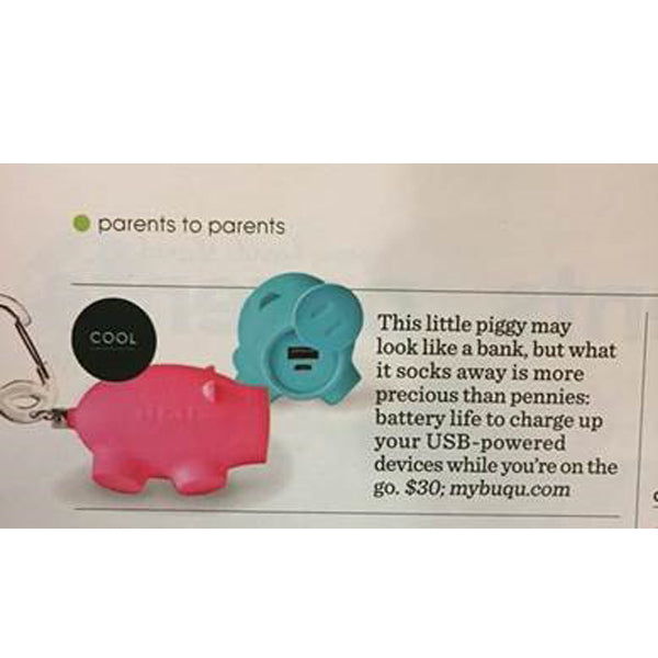 parents magazine chubs pig charger