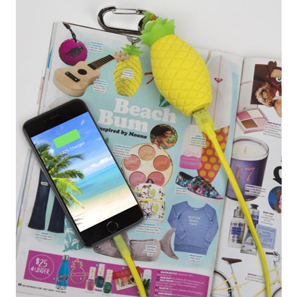 seventeen magazine pineapple power bank