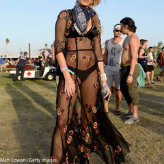 sheer bodysuit coachella outfit