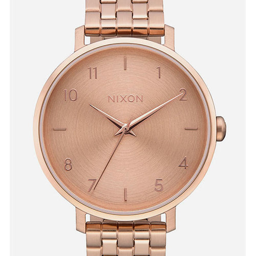 Nixon rose gold watch Tilly's