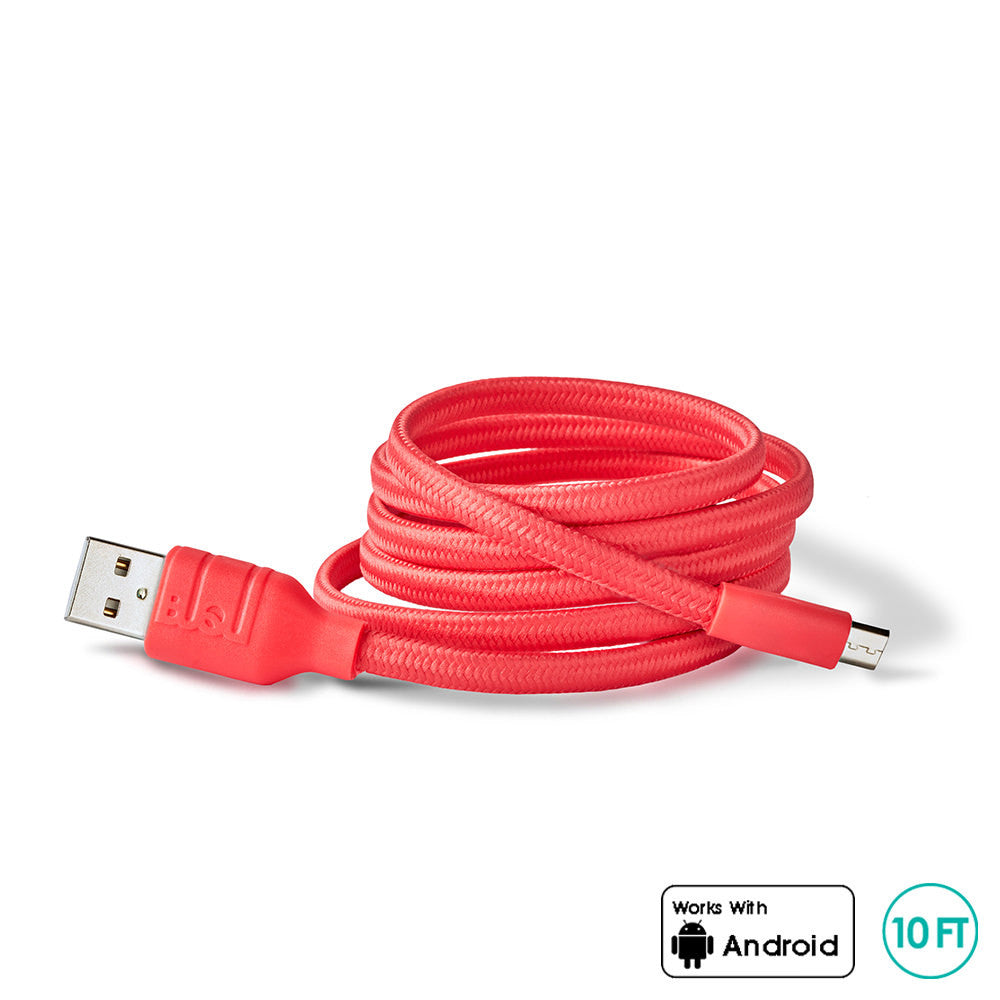 CORDZ- 10FT Micro USB Cable - myBuQu