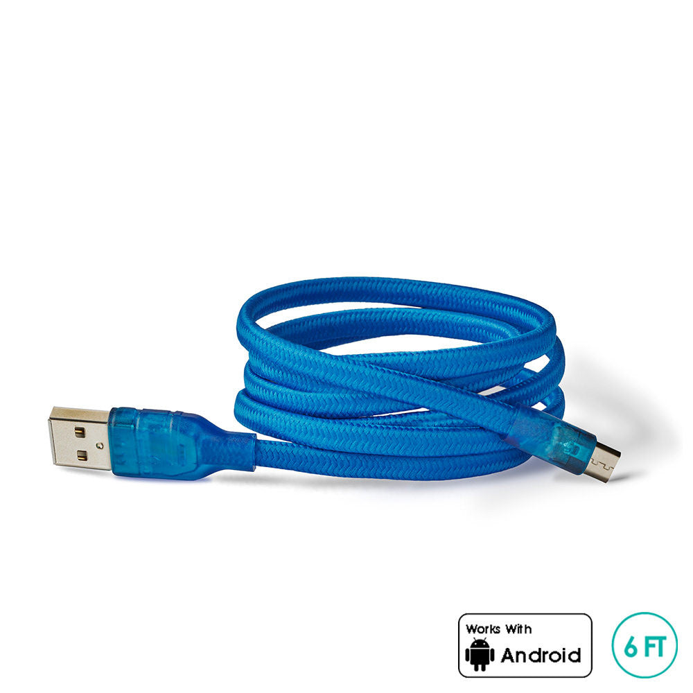 CORDZ- 6FT Micro USB Cable - myBuQu