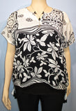 Sterling Styles Wearable Art Garden Vine Top - SoCal Queen