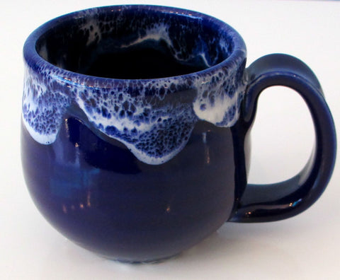 Richard White Fine Porcelain Tea Cup in Sapphire