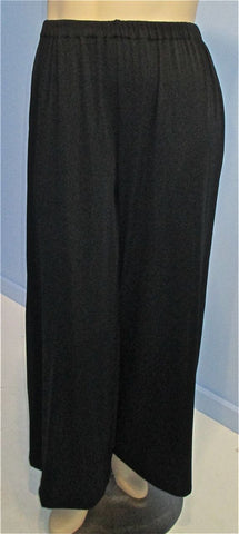 Courtney Washington Silky Ribbed Palazzo Pant - SoCal Queen