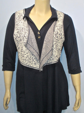 Tara Vao Reversible Rinso Vest - SoCal Queen