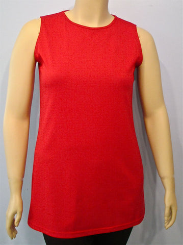 Swish Knit Sleeveless Shell - SoCal Queen