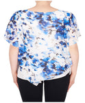 Joseph Ribkoff Morning Glory Layered Top - SoCal Queen