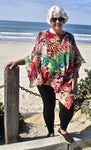 JFD Animal Swirl Poncho - SoCal Queen