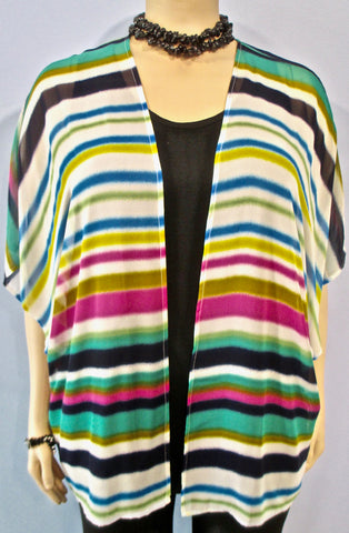 JFD Happy Stripe Jacket - SoCal Queen
