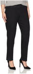 Slim Sation Black Pull-on Relaxed Pant - SoCal Queen