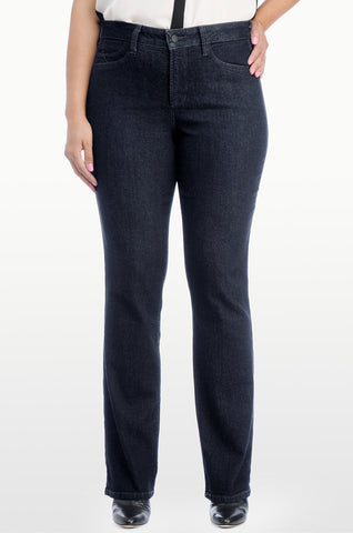 NYDJ Barbara Bootcut Jean in Classic Blue - SoCal Queen