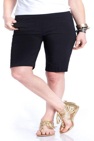 Slim Sation Black Walking Short - SoCal Queen