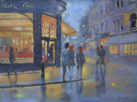 'Around Exchequer Street, Dublin' - Ann Flynn Art