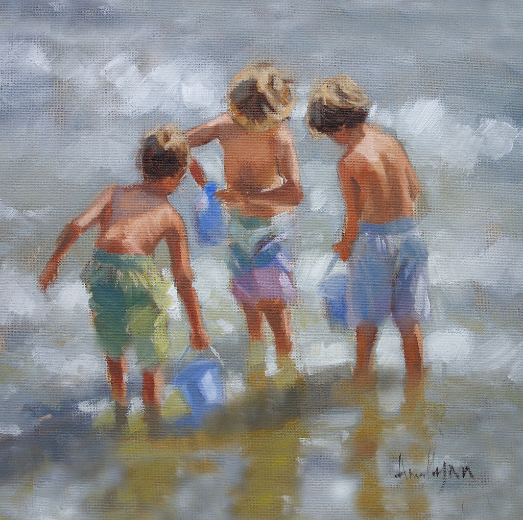 "'Beach Boys"" - Ann Flynn Art"
