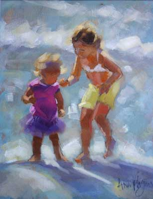 "'Big sister"" - Ann Flynn Art"